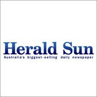 The Herald Sun, Australia's top selling newspaper, interviews Caelin Gabriel