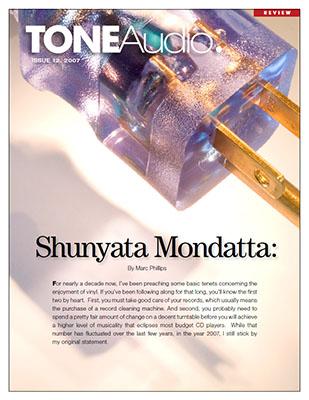 Tone Audio Issue 12 - Shunyata Mondatta