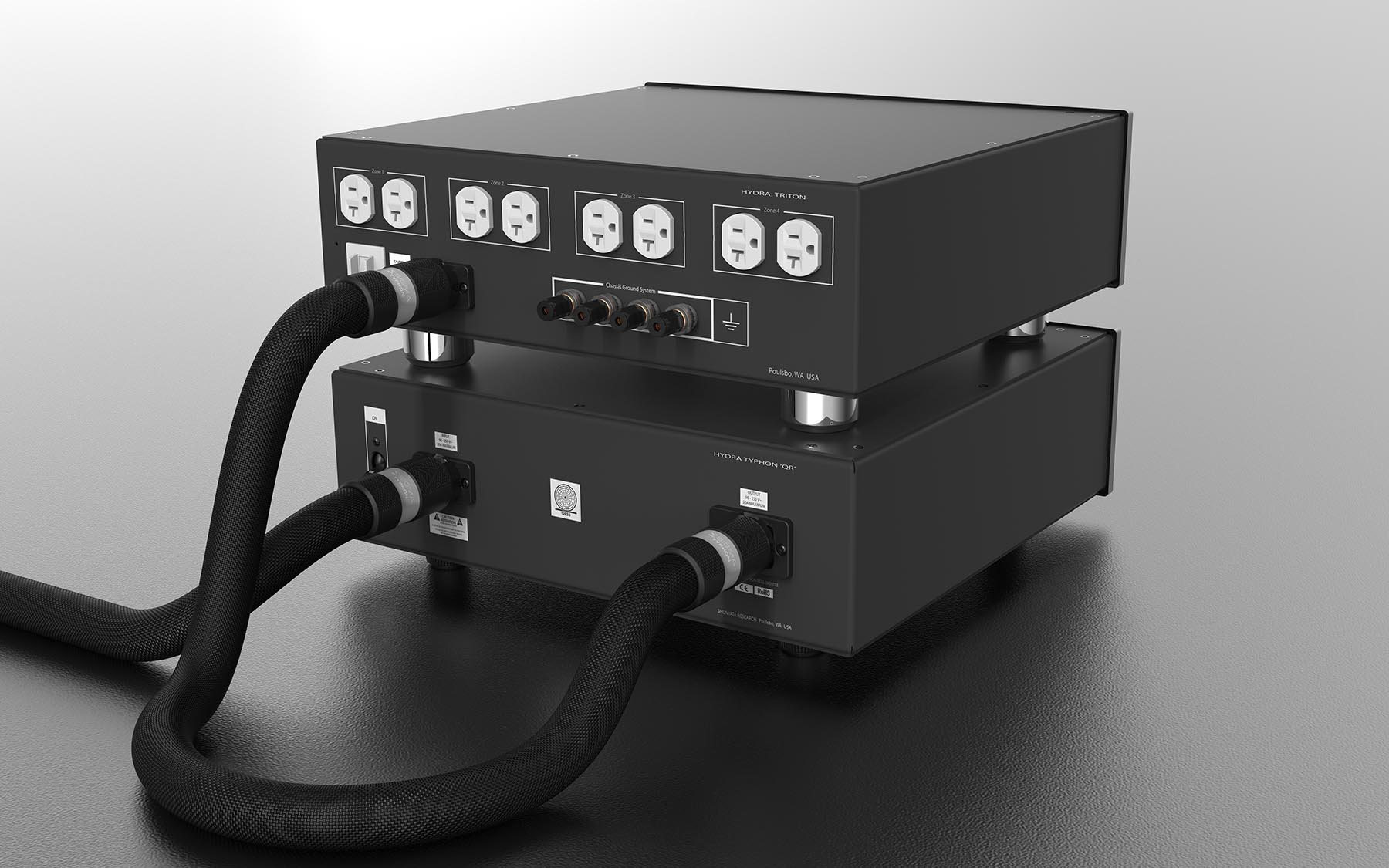 Hydra Typhon Qr Shunyata Research Amp Breaker Can Be Upgraded To 30 Home Improvement Stack Power Distributors
