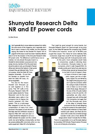 Downloads - Shunyata Research