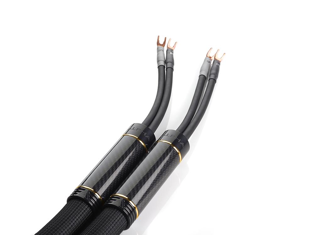 Alpha V2 Speaker Cable in gold
