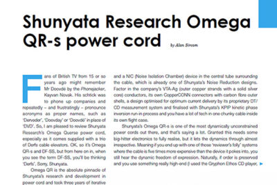 Featured image of Omega QR-s review